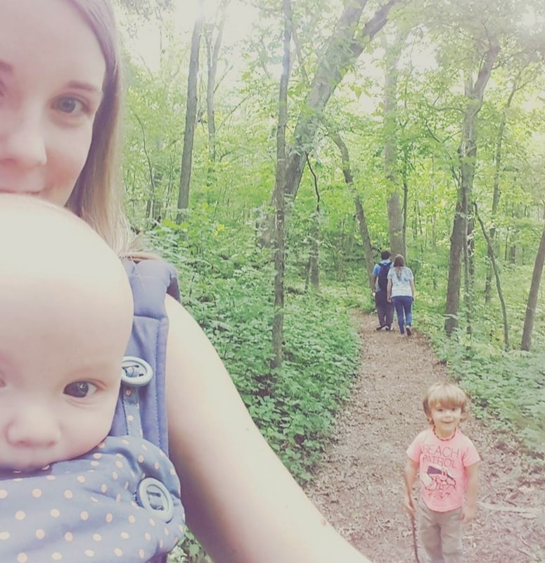 Baby Wearing can save your sanity as a new mom. Ergo 360.