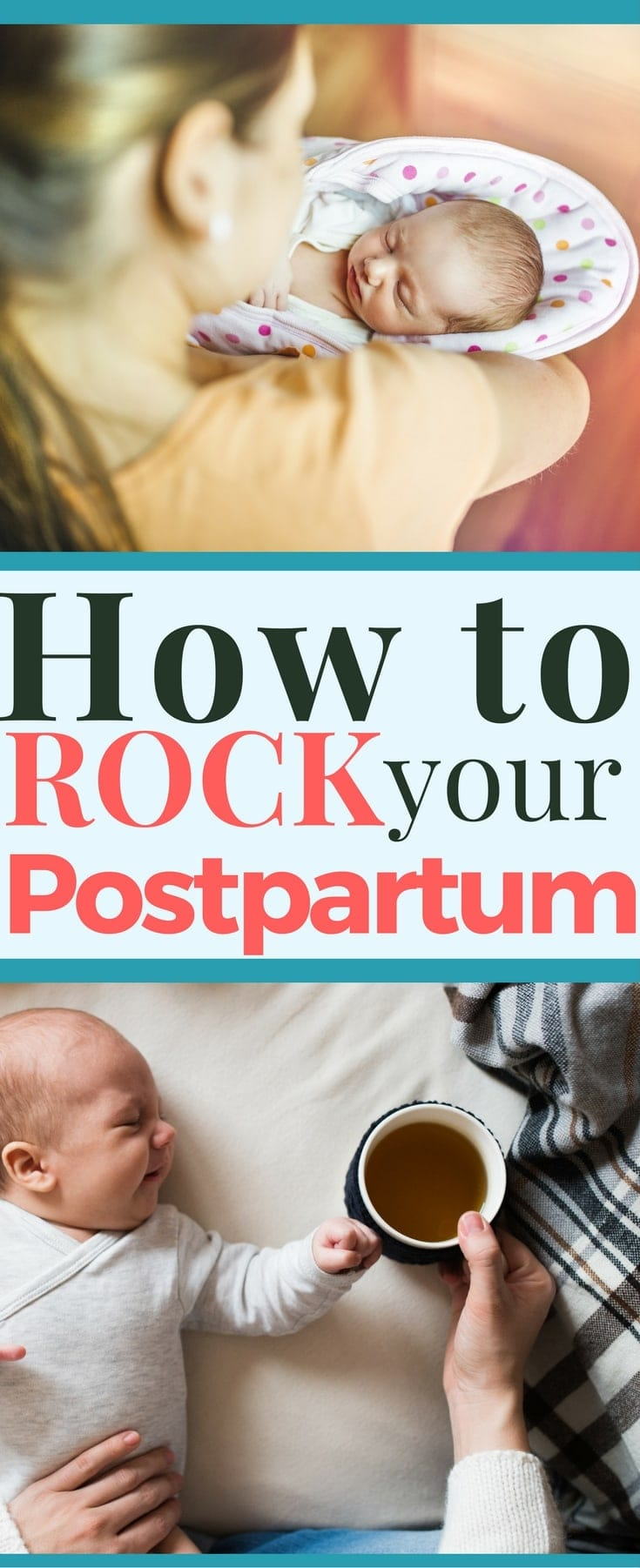 How to rock your postpartum, heal faster after birth & enjoy your newborn more!