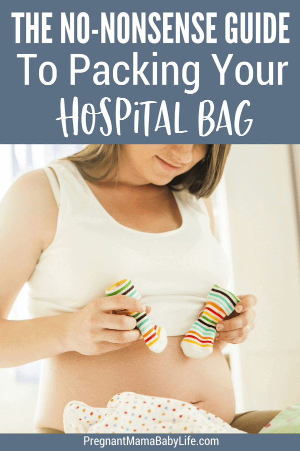 The practical items you need to pack in your hospital bag. The things you need, the things you don't. All the hospital bag essentials you won't want to forget. Complete with a printable hospital bag checklist for moms to be.