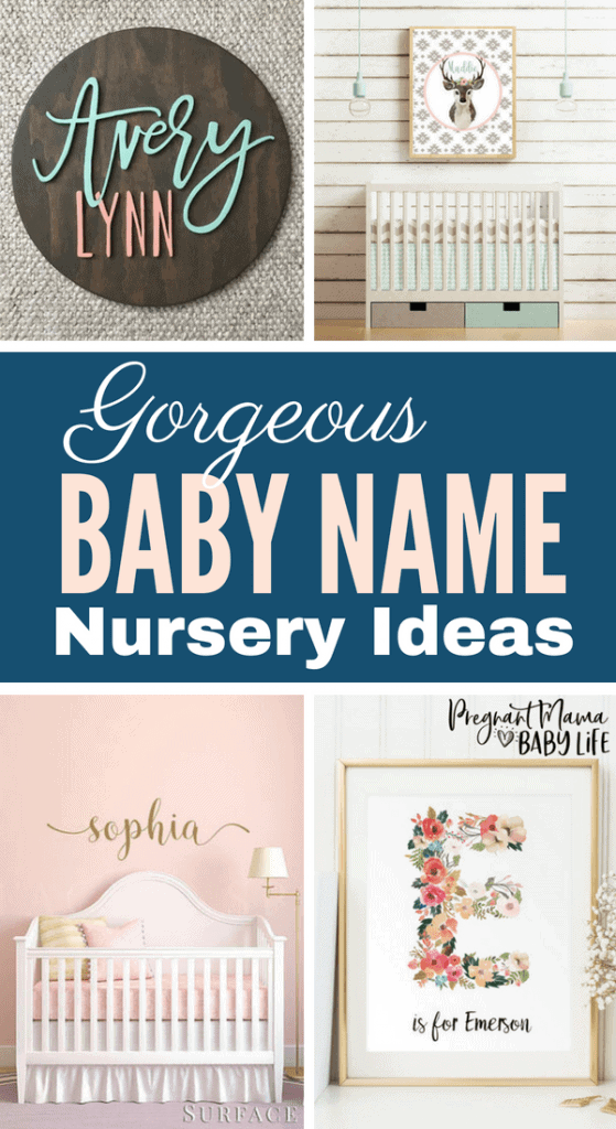 Personalized nursery ideas. Show of your baby name right in your baby's room.Perfect for a baby girls room or a baby boys room.