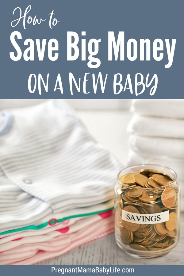 How to save big money on a new baby. The baby items you actually need, how to get the most of them, and all the baby stuff you don't need.