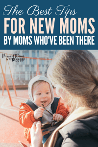 The best tips for new moms. How to make life with a newborn so much easier.