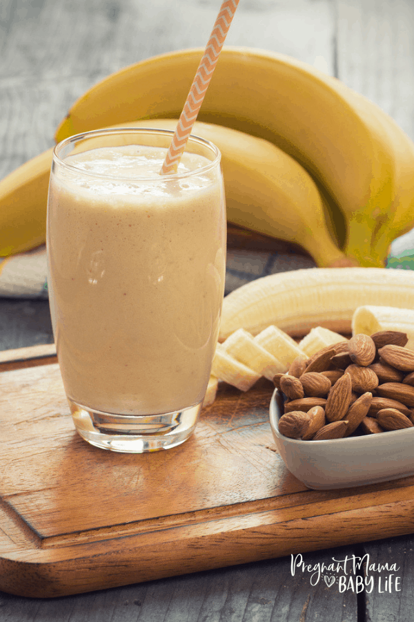 Banana Oat Lactation Smoothie