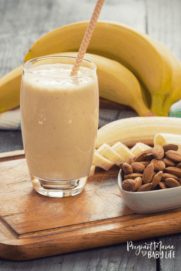 Banana Oat Lactation Smoothie