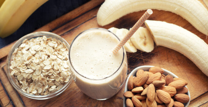 banana lactation smoothie