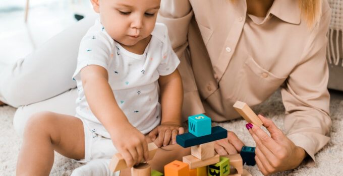 The best wooden blocks for babies.
