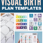 how to create a visual birth plan