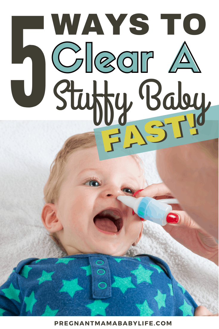 how to clear a stuffed up baby