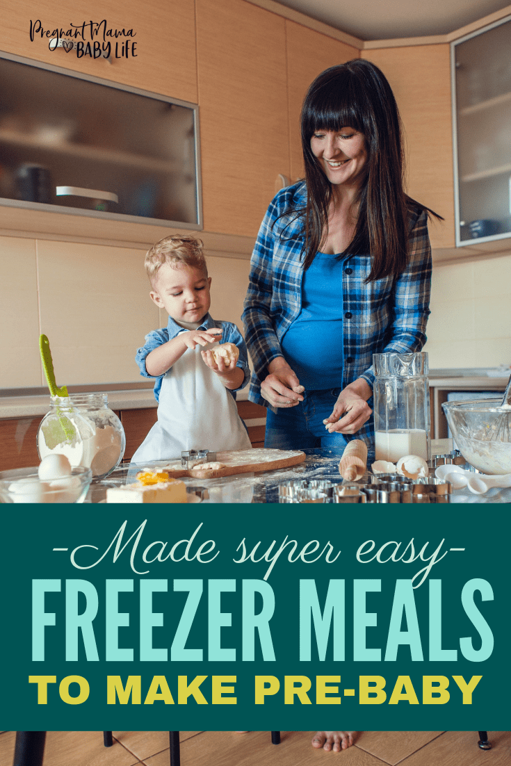 Freezer meals for new moms made super easy! These easy freezer meals. These healthy make ahead meals are perfect for pregnant moms to stock their freezer before baby comes.