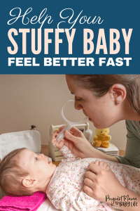 Home remedies to help your sick baby feel better fast. Unclog a baby's stuffy nose with these simple tips that work! How to use saline spray the right way, and which aspirators are best to clear snot from an infant.