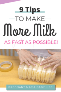 increase milk supply and make more milk