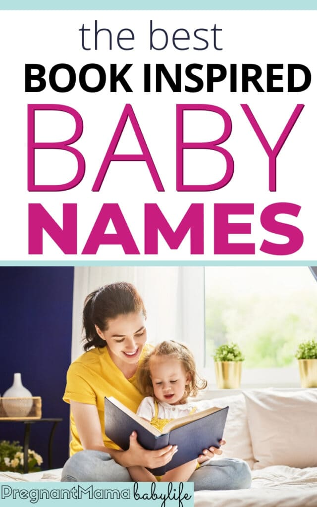 lit baby names inspired by books