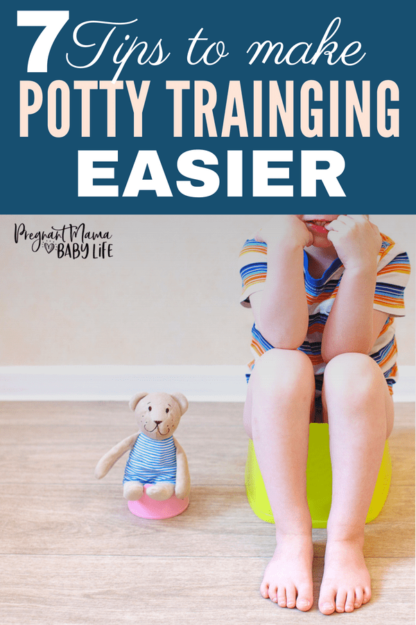 Our best tips for making potty training a toddler easier.