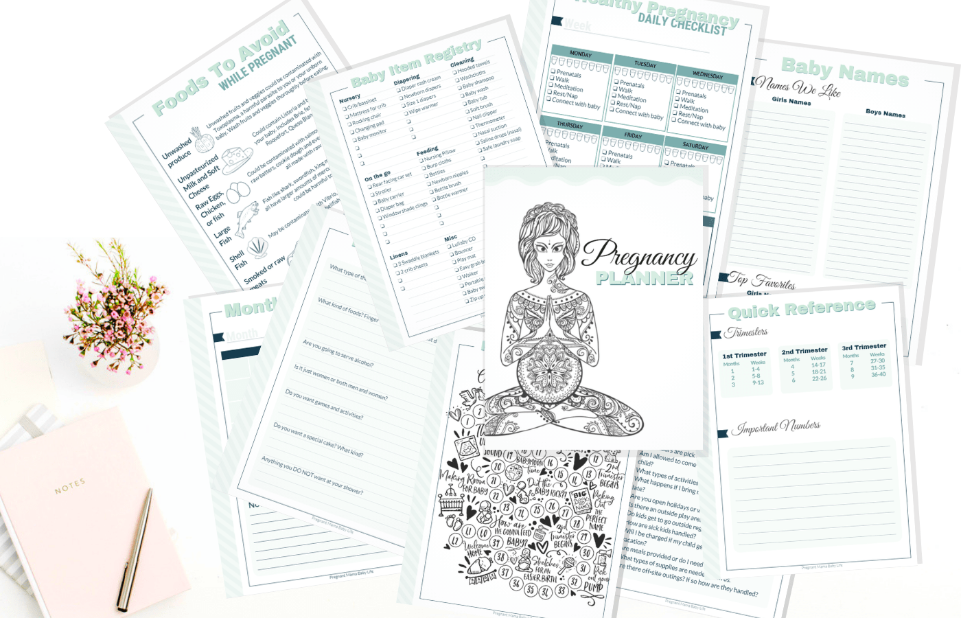 The Ultimate Pregnancy Planner and Journal