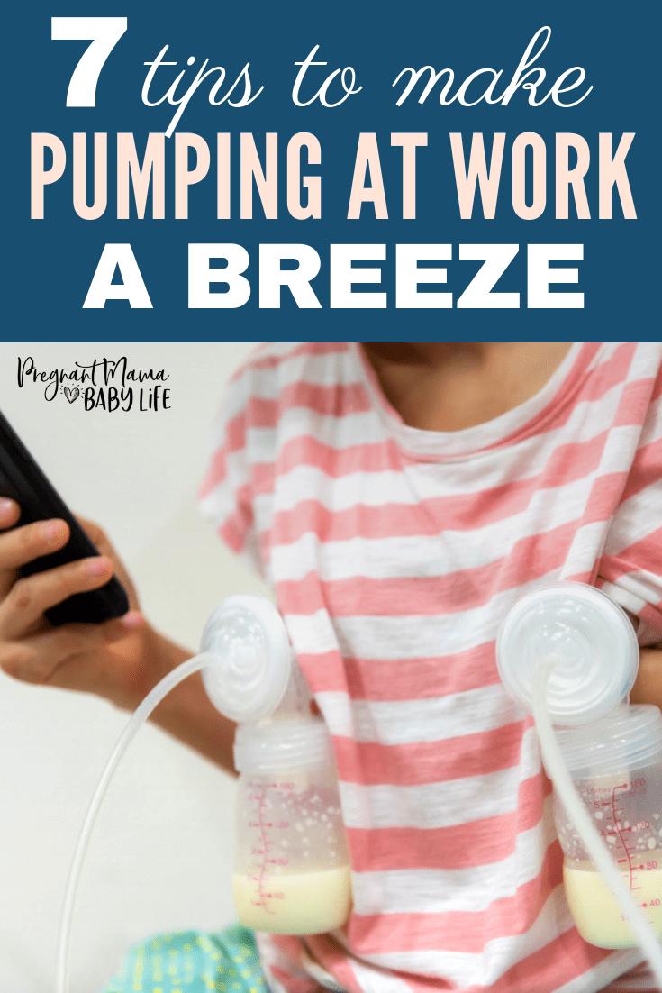 Pumping at work tips