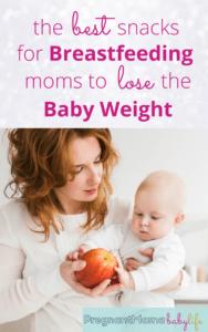 best snacks for breastfeeding moms