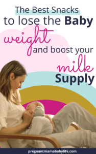 snacks to increase milk supply