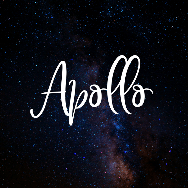 Great baby names inspired by space. Apollo is a great baby boy name!