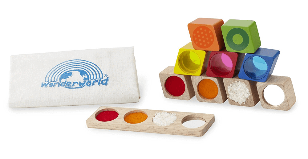 non toxic baby toy colorful wooden stacking blocks